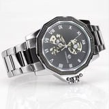 Dodecagon Automatic Stainless Steel Men's Watch