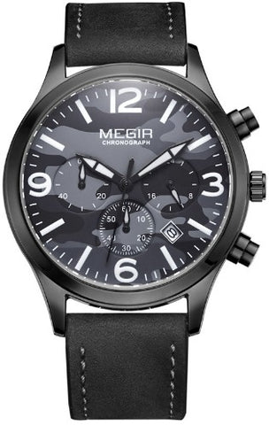 Elegant Men's Army Watch Complex