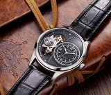 Les Classiques Black Leather Men's Watch
