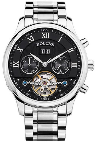 Luxury Sapphire Crystal Men's Automatic Watch