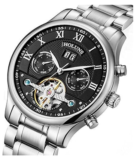 Luxury Sapphire Crystal Men's Automatic Watch – Balmer & Kalt