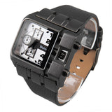 Men's Square Dial Collection Wristwatch