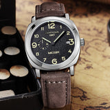 Men's Vintage Luminous Wristwatch