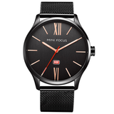 Minimalist Classic Mesh Band Watch