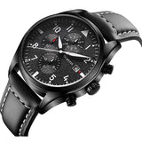 Pilot Chronograph Men's Watch