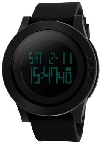 Silicone Waterproof LED Watch