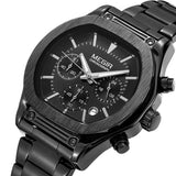 Stainless Steel Band Exclusive Chronograph Watch