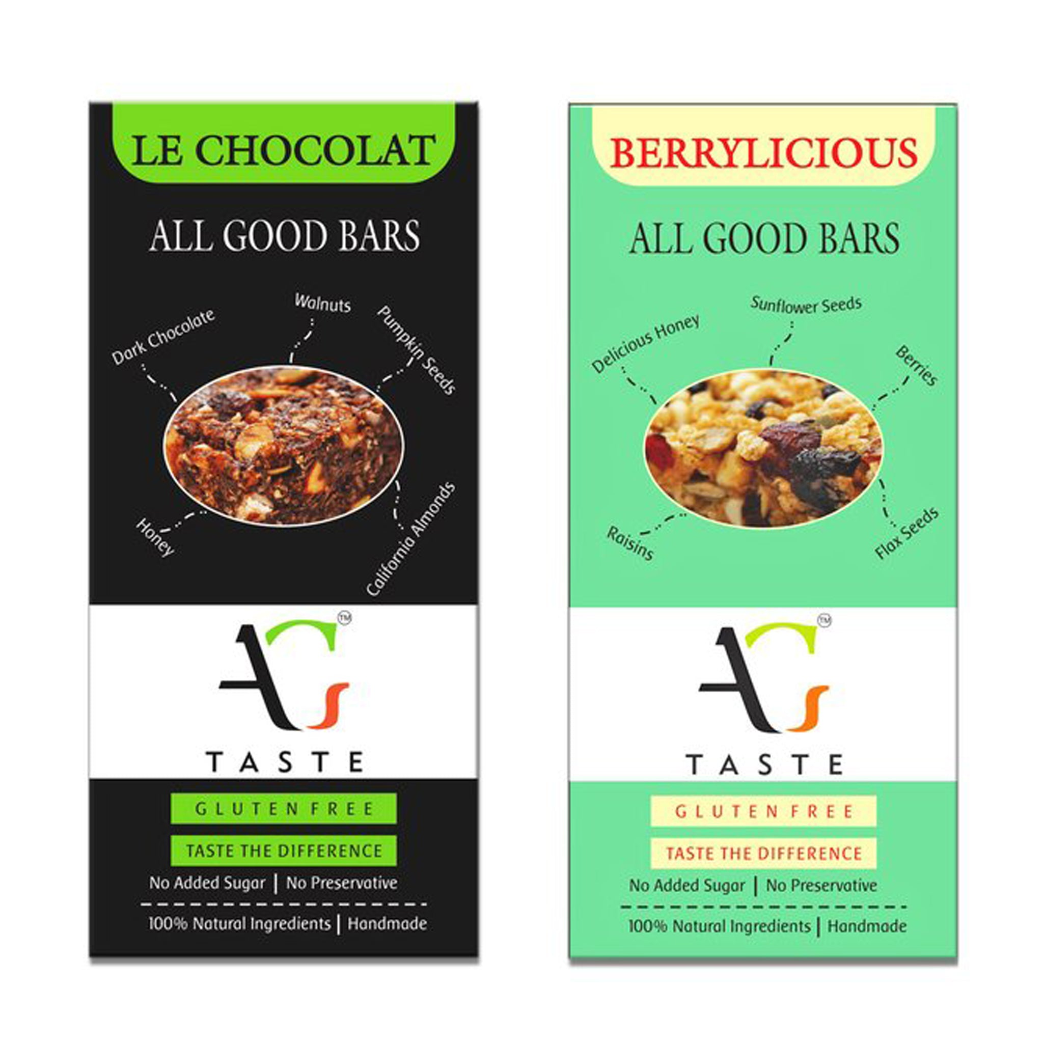 Cereal Bars Set of Two