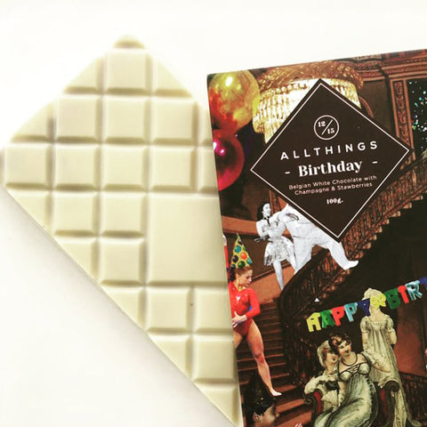 Birthday Chocolate Bar