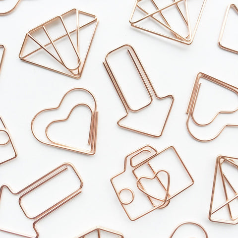 Diamond Paper Clips