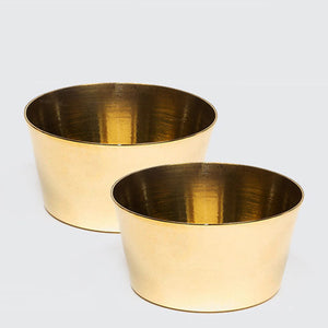 Brass Basik Bowl - Set of 2