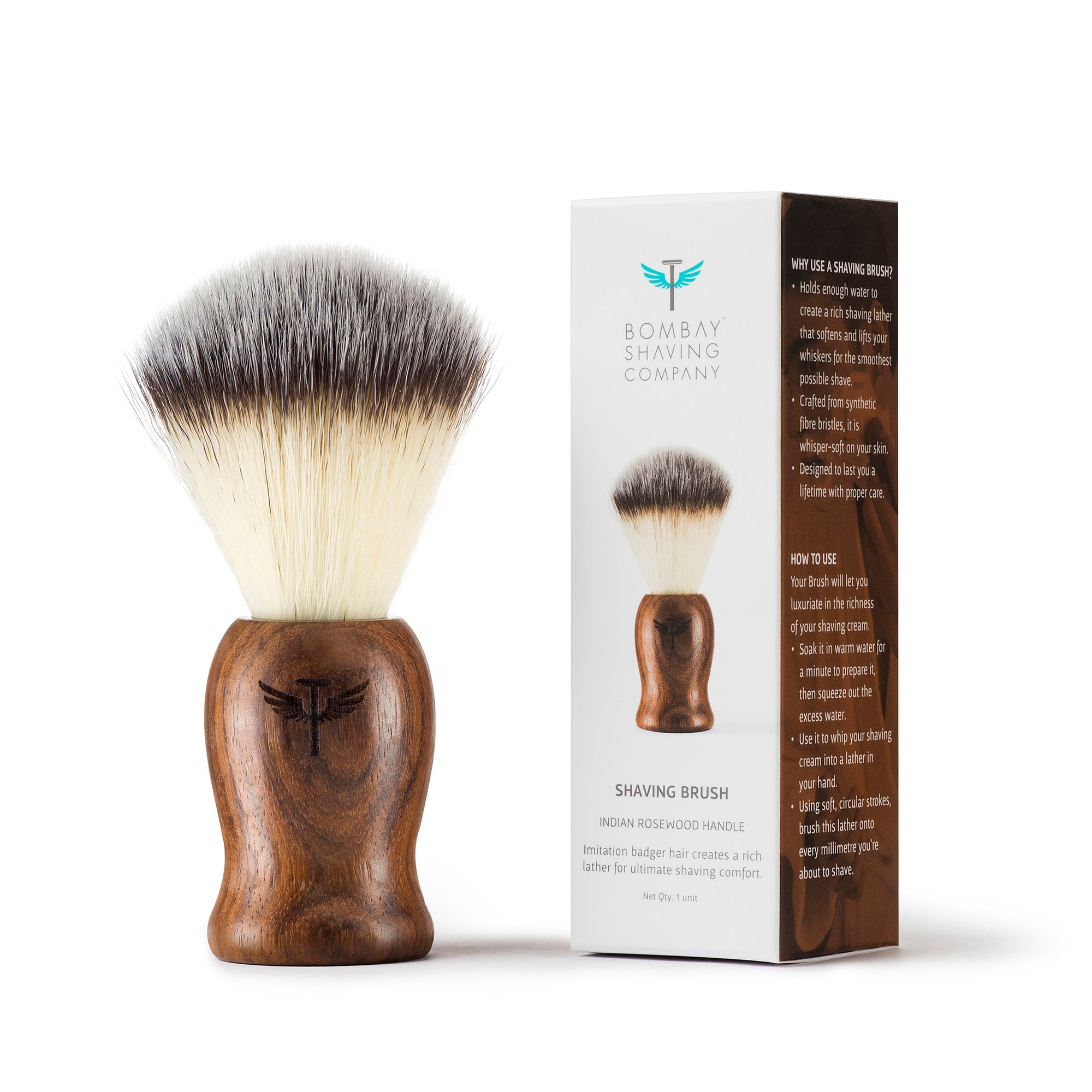Rosewood Shaving Brush