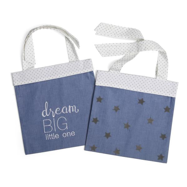 Dream Big Cot Storage Bags