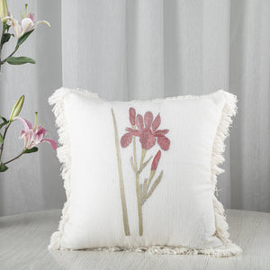 Iris In Rose Cushion Cover