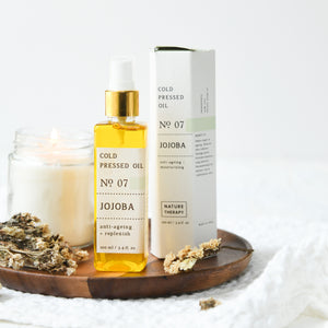 Jojoba Oil: Cold Pressed