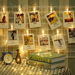 LED Photoclip Lights