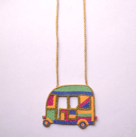 Rickshaw Beaded Necklace