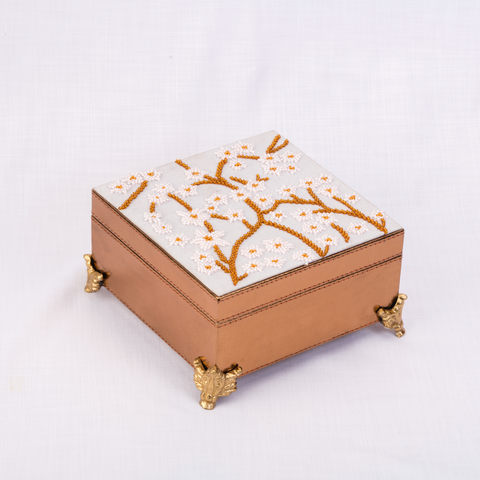 Cherry blossom jewellery box