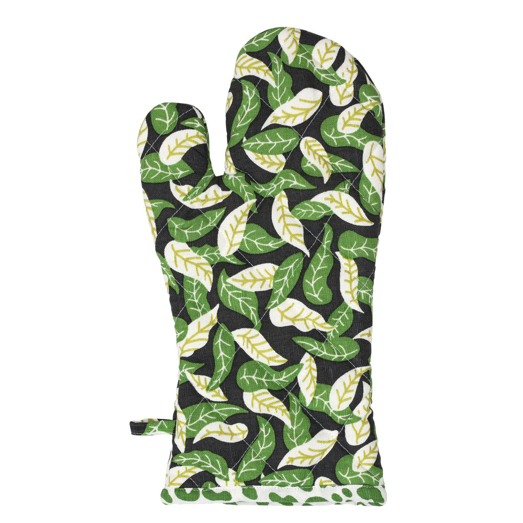 Shaken Leaves Oven Glove