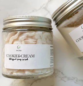 Cookies & Cream Whipped Soap