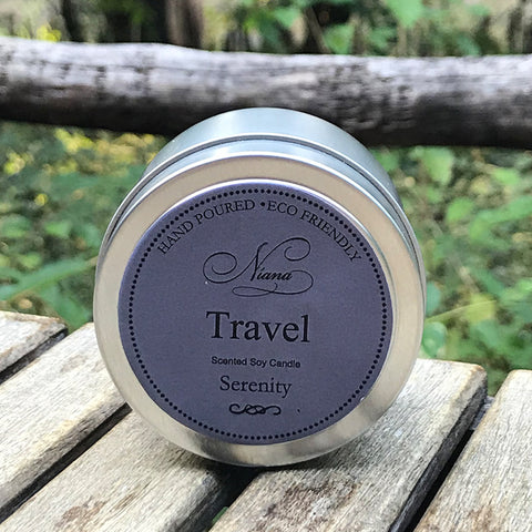 Serenity Travel Tin Candle