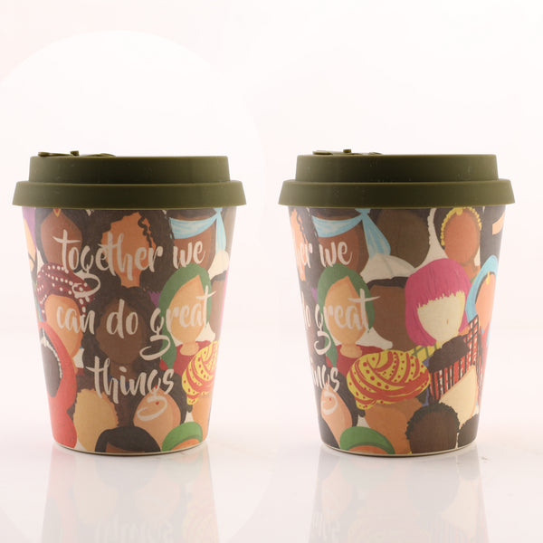 Bamboo Fiber Quirky Cups