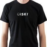iSKI MENs fitted T-Shirt - Connecting the world of skiing
