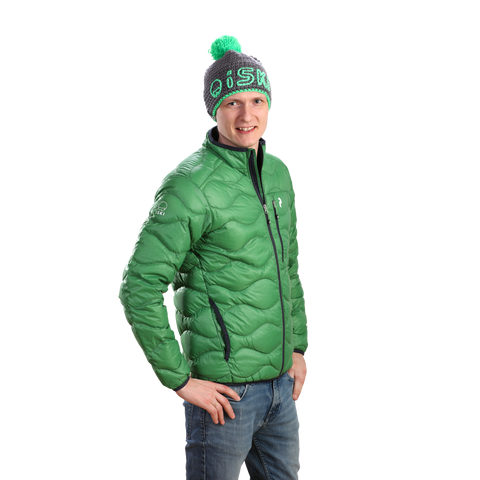 iSKI MEN Helium Jacket race green by Peak Performance