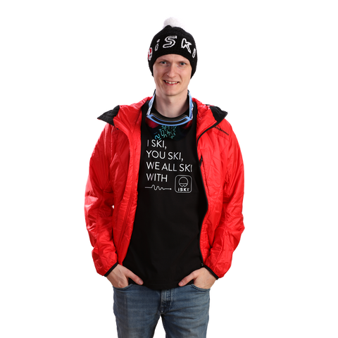 iSKI MENs fitted T-Shirt - iSKI, YOU SKI, WE ALL SKI