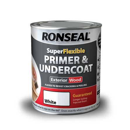Ronseal 750ml Super Flexible Primer And Undercoat Thewoodfinishesstore
