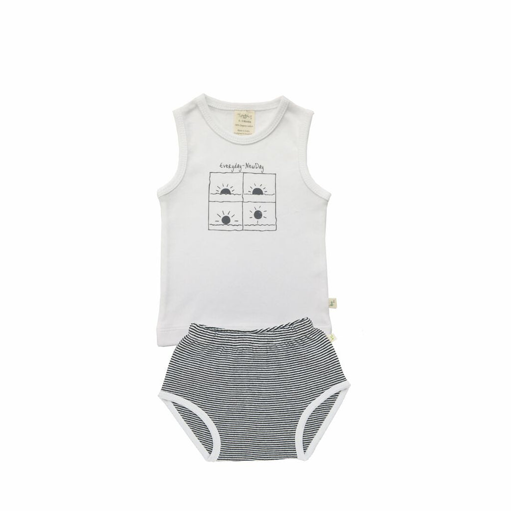 Tiny Twig Singlet set