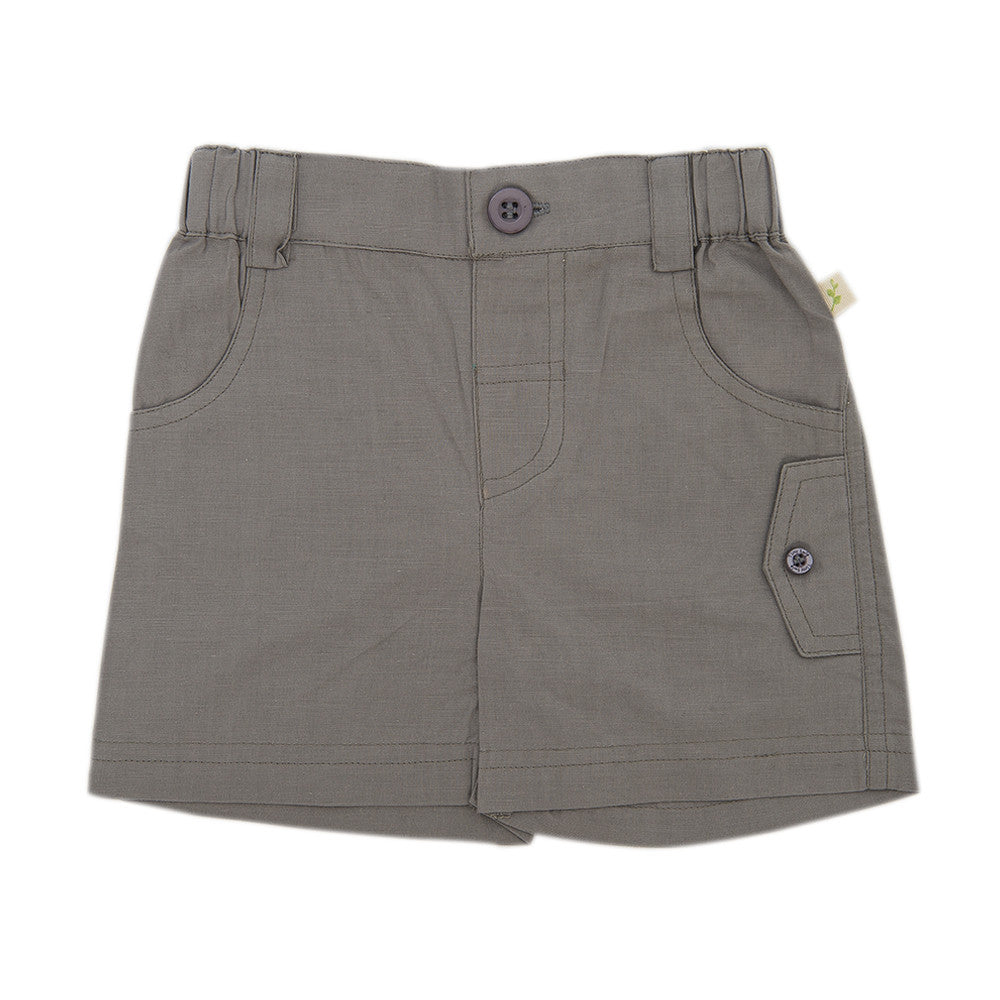Tiny Twig Cargo Shorts Soft Grey