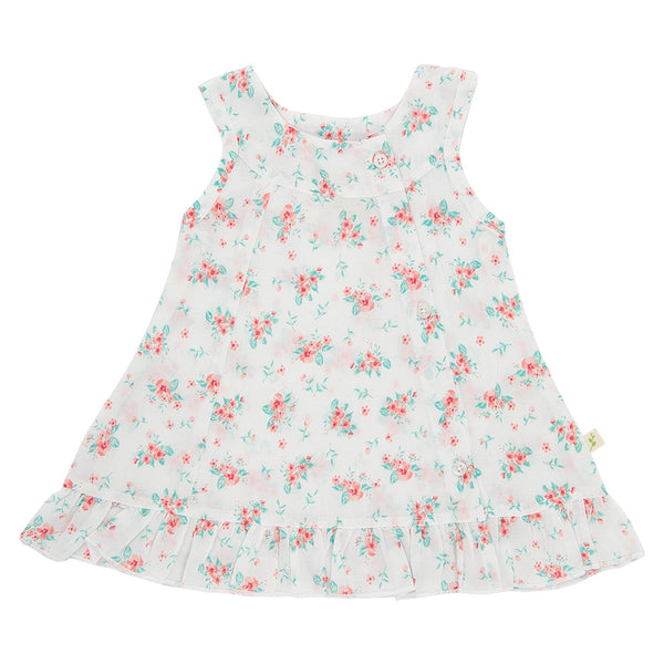Tiny Twig Daisy Dress with Bloomer Coral Jasmine