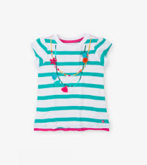 Hatley Shell Necklace Graphic Tee