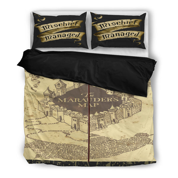 Marauder's Map Bedding Set