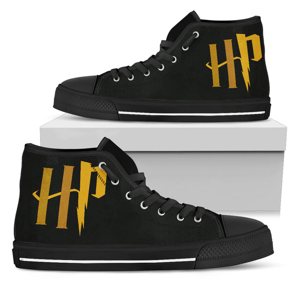 HP Printed High Top Canvas Shoe
