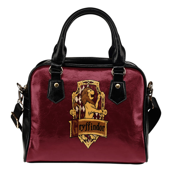 Hp Premium Leather Shoulder Handbag