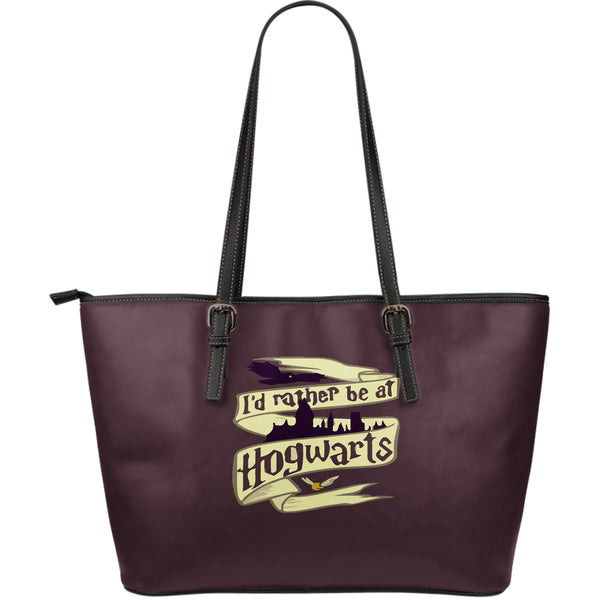 HP Large Leather Tote