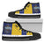 Hogwarts Houses High Top Canvas Shoe