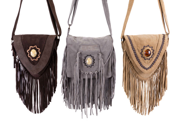 e4811f8c1c51 Leather Messenger Bags · Suede Tassle Rucksacks  amp  ...