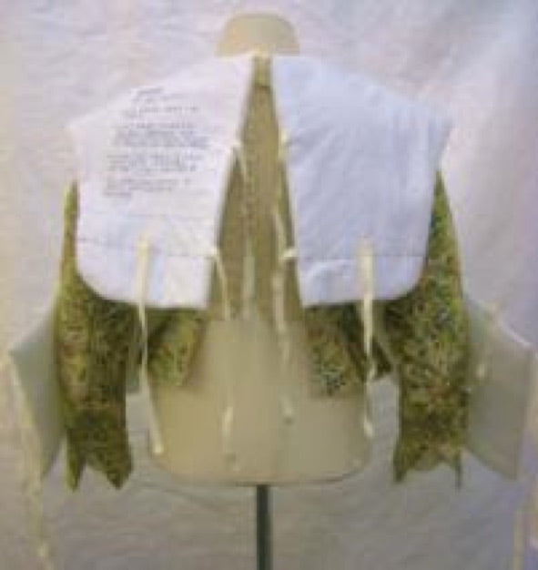 Elizabethan bodice - packing for transport