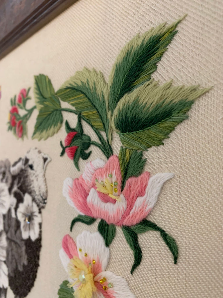 Hilltop Queenie stitching detail