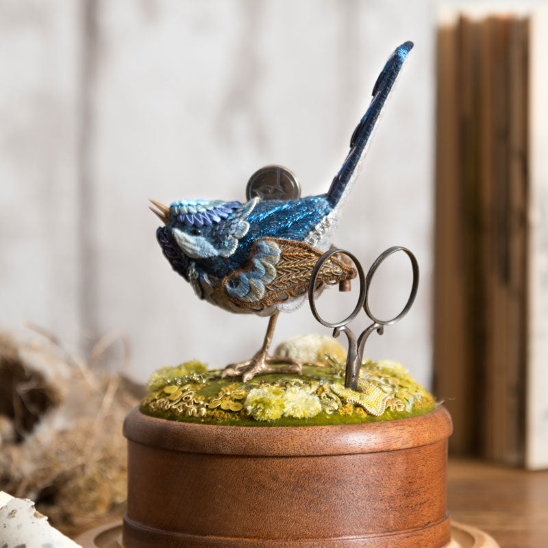Jenny Adin-Christie Blue Bird Etui for the Stratford Residential Retreat