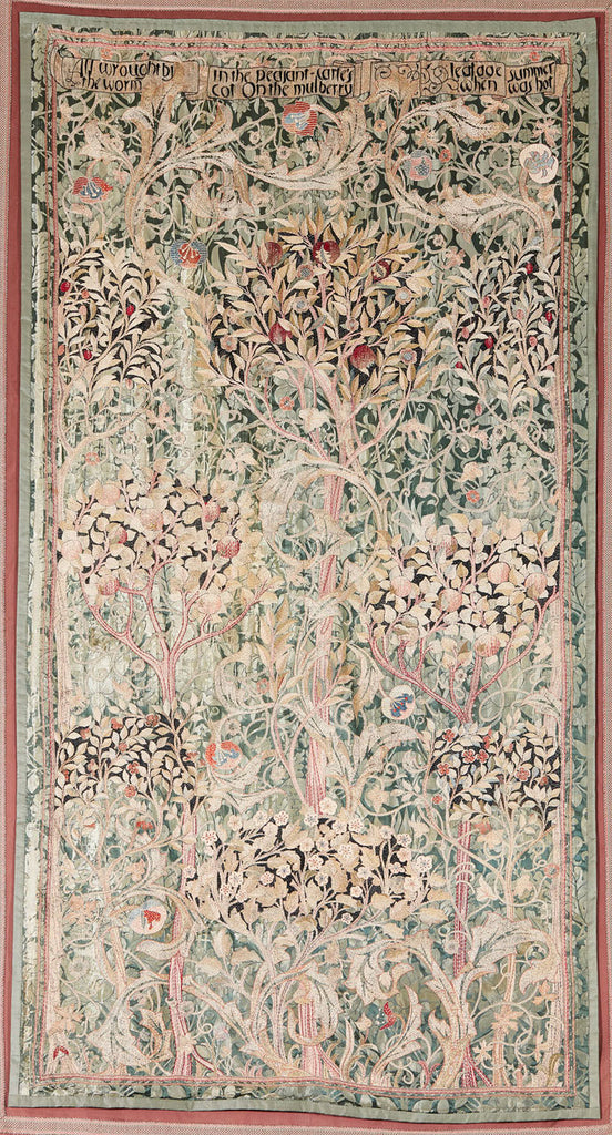 May Morris Hanging - to be sold at auction by Lyon & Turnbull
