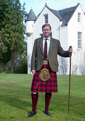 Malcolm MacGregor - Chief of Clan Gregor