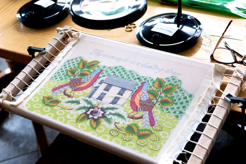 Nicola Jarvis' Dove Cottage Sampler for the spring residential retreat 2018