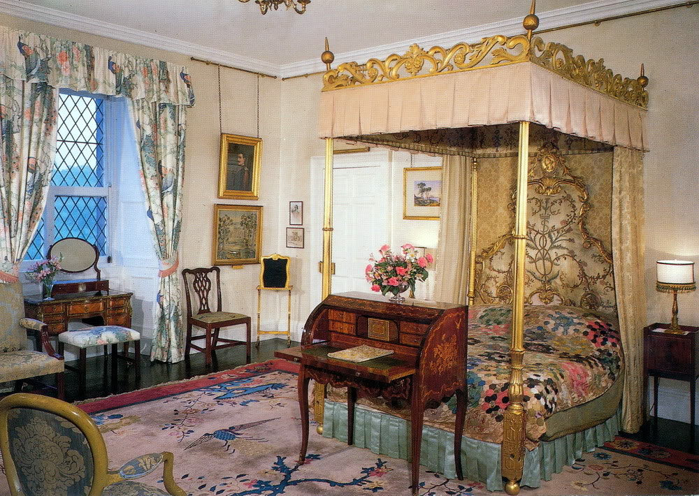 The Queen Mother's Bedchamber at Glamis Castle