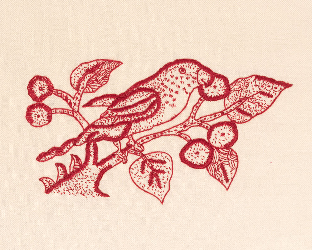 The Redwork Parrot
