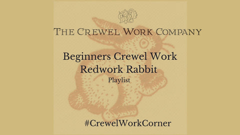 Beginners guide to the Redwork Rabbit