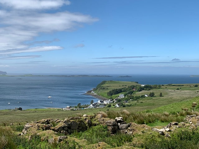View of the West Coast of Scotland